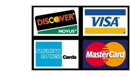 Charge Card Logos